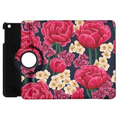 Pink Roses And Daisies Apple Ipad Mini Flip 360 Case by AllThingsEveryone