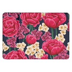 Pink Roses And Daisies Samsung Galaxy Tab 8 9  P7300 Flip Case by allthingseveryone