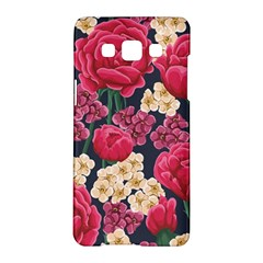 Pink Roses And Daisies Samsung Galaxy A5 Hardshell Case  by AllThingsEveryone