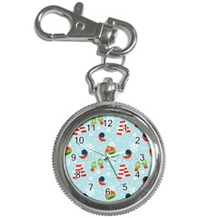 Winter Fun Pattern Key Chain Watches by allthingseveryone
