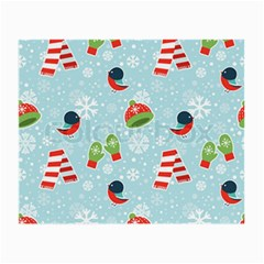 Winter Fun Pattern Small Glasses Cloth by AllThingsEveryone