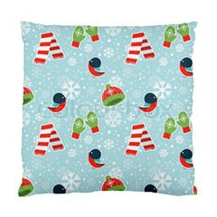 Winter Fun Pattern Standard Cushion Case (two Sides) by allthingseveryone