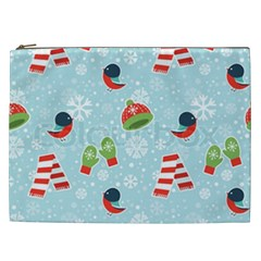Winter Fun Pattern Cosmetic Bag (xxl)  by AllThingsEveryone
