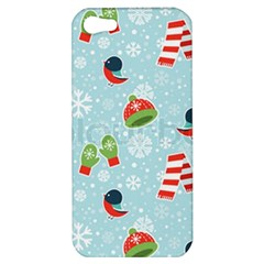 Winter Fun Pattern Apple Iphone 5 Hardshell Case by allthingseveryone