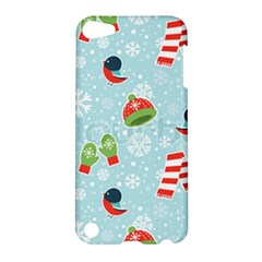 Winter Fun Pattern Apple Ipod Touch 5 Hardshell Case by allthingseveryone