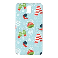 Winter Fun Pattern Samsung Galaxy Note 3 N9005 Hardshell Back Case by AllThingsEveryone