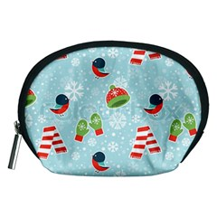 Winter Fun Pattern Accessory Pouches (medium)  by AllThingsEveryone