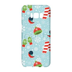 Winter Fun Pattern Samsung Galaxy S8 Hardshell Case  by AllThingsEveryone