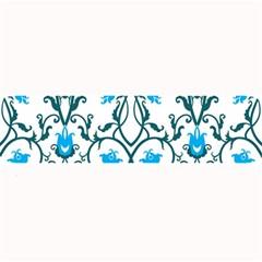 Art Nouveau, Art Deco, Floral,vintage,blue,green,white,beautiful,elegant,chic,modern,trendy,belle Époque Large Bar Mats by 8fugoso
