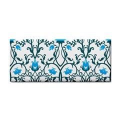 Art Nouveau, Art Deco, Floral,vintage,blue,green,white,beautiful,elegant,chic,modern,trendy,belle Époque Cosmetic Storage Cases by 8fugoso
