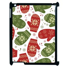 Winter Snow Mittens Apple Ipad 2 Case (black) by allthingseveryone