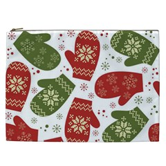 Winter Snow Mittens Cosmetic Bag (xxl)  by AllThingsEveryone