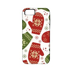 Winter Snow Mittens Apple Iphone 5 Classic Hardshell Case (pc+silicone) by allthingseveryone