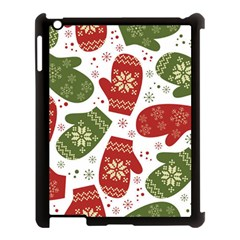 Winter Snow Mittens Apple Ipad 3/4 Case (black) by allthingseveryone