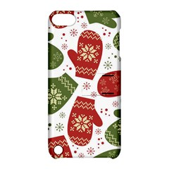 Winter Snow Mittens Apple Ipod Touch 5 Hardshell Case With Stand by allthingseveryone