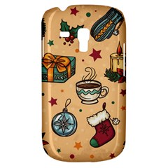 Cute Vintage Christmas Pattern Galaxy S3 Mini by allthingseveryone