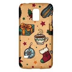 Cute Vintage Christmas Pattern Galaxy S5 Mini by allthingseveryone