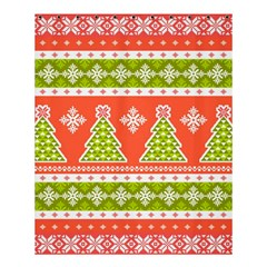Christmas Tree Ugly Sweater Pattern Shower Curtain 60  X 72  (medium)  by allthingseveryone