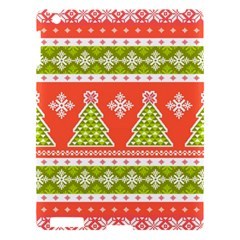 Christmas Tree Ugly Sweater Pattern Apple Ipad 3/4 Hardshell Case by allthingseveryone
