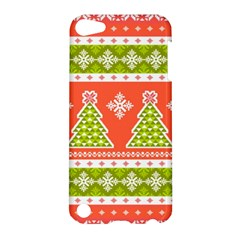 Christmas Tree Ugly Sweater Pattern Apple Ipod Touch 5 Hardshell Case by allthingseveryone