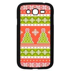 Christmas Tree Ugly Sweater Pattern Samsung Galaxy Grand Duos I9082 Case (black) by allthingseveryone