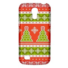 Christmas Tree Ugly Sweater Pattern Galaxy S4 Mini by allthingseveryone
