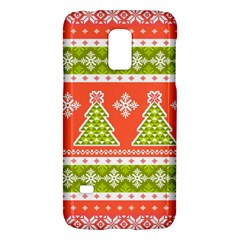 Christmas Tree Ugly Sweater Pattern Galaxy S5 Mini by allthingseveryone