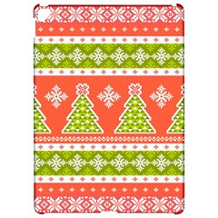 Christmas Tree Ugly Sweater Pattern Apple Ipad Pro 12 9   Hardshell Case by allthingseveryone