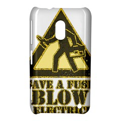 Save A Fuse Blow An Electrician Nokia Lumia 620 by FunnyShirtsAndStuff