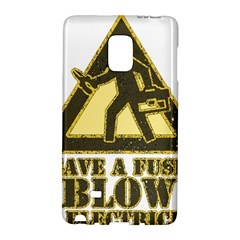 Save A Fuse Blow An Electrician Galaxy Note Edge by FunnyShirtsAndStuff
