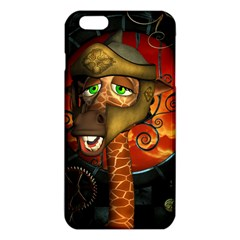 Funny Giraffe With Helmet Iphone 6 Plus/6s Plus Tpu Case by FantasyWorld7