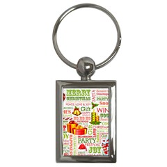 The Joys Of Christmas Key Chains (rectangle)  by AllThingsEveryone