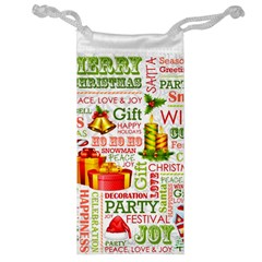 The Joys Of Christmas Jewelry Bag by AllThingsEveryone