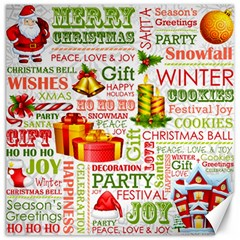 The Joys Of Christmas Canvas 20  X 20   by AllThingsEveryone