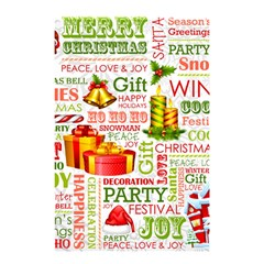 The Joys Of Christmas Shower Curtain 48  X 72  (small)  by allthingseveryone