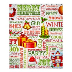 The Joys Of Christmas Shower Curtain 60  X 72  (medium)  by allthingseveryone