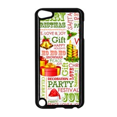 The Joys Of Christmas Apple Ipod Touch 5 Case (black) by allthingseveryone