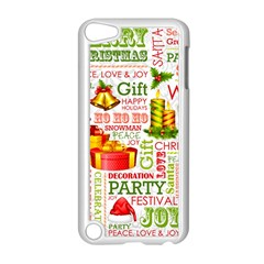 The Joys Of Christmas Apple Ipod Touch 5 Case (white) by allthingseveryone
