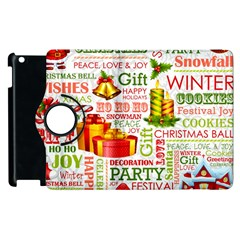 The Joys Of Christmas Apple Ipad 3/4 Flip 360 Case by allthingseveryone
