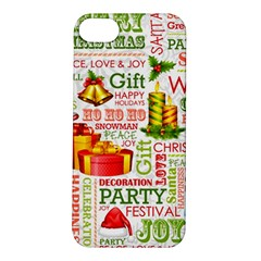The Joys Of Christmas Apple Iphone 5s/ Se Hardshell Case by allthingseveryone