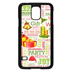 The Joys Of Christmas Samsung Galaxy S5 Case (black) by allthingseveryone