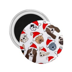 Christmas Puppies 2 25  Magnets by allthingseveryone