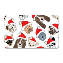 Christmas Puppies Magnet (rectangular) by AllThingsEveryone