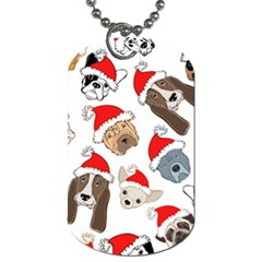 Christmas Puppies Dog Tag (two Sides) by AllThingsEveryone