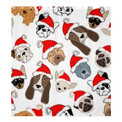 Christmas Puppies Shower Curtain 66  X 72  (large)  by allthingseveryone