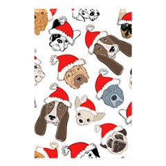 Christmas Puppies Shower Curtain 48  X 72  (small)  by AllThingsEveryone