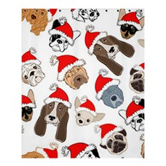 Christmas Puppies Shower Curtain 60  X 72  (medium)  by allthingseveryone