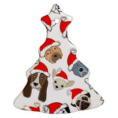 Christmas Puppies Ornament (christmas Tree)  by AllThingsEveryone