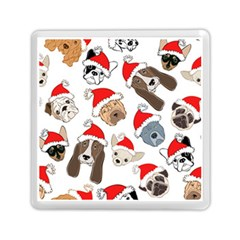 Christmas Puppies Memory Card Reader (square)  by AllThingsEveryone