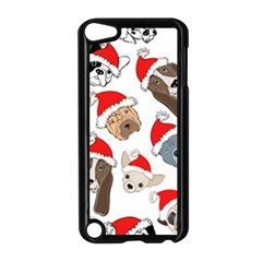 Christmas Puppies Apple Ipod Touch 5 Case (black) by allthingseveryone